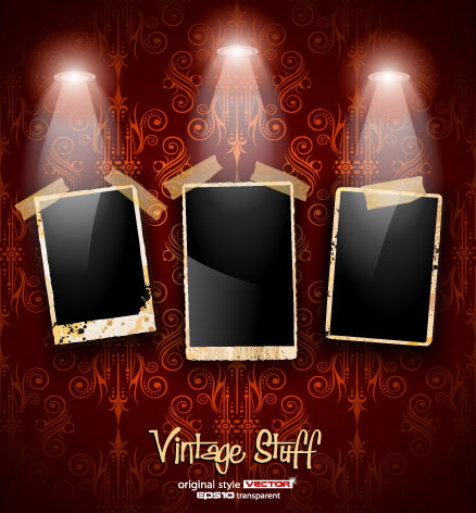 Photo Frame Show box 01 - vector material
