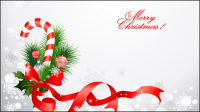 Christmas decoration material 04 - vector material