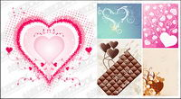 Sweet Heart vector material
