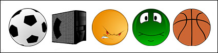 Basketball, football, expressions, such as computer cartoon icon png